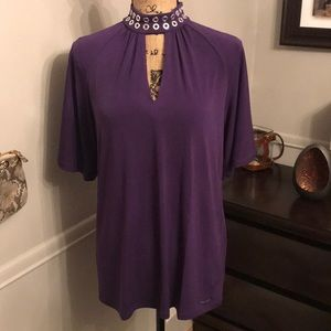 Michael Kors Tops - Michael Kors purple top